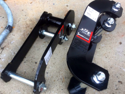 Rear Lift Shackles - 2.5 Inch Lift - Suits Ford Ranger PX Series & BT50 (2012-2018) - Spoilers and Bodykits Australia