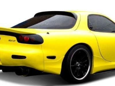 Rear Window Roof Spoiler for Mazda RX7 FD (1992 - 2002 Models) - Spoilers and Bodykits Australia
