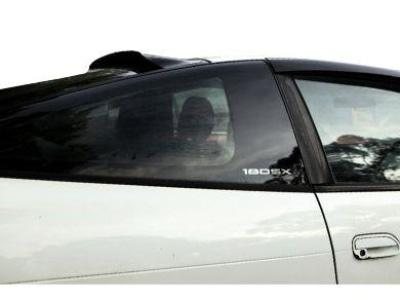 Rear Window Roof Spoiler for Nissan 180SX Coupe - Spoilers and Bodykits Australia