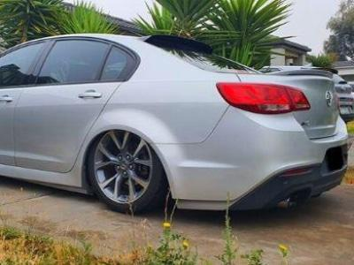 Rear Window Roof Spoiler for VF Holden Commodore Sedan - Spoilers and Bodykits Australia