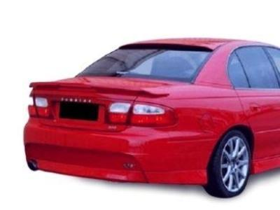 Rear Window Roof Spoiler for VT / VX / VY / VZ Holden Commodore Sedan (Fibreglass) - Spoilers and Bodykits Australia
