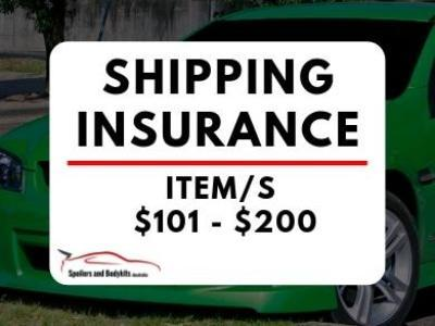 Shipping Insurance – Item/s $101 - $200 - Spoilers and Bodykits Australia