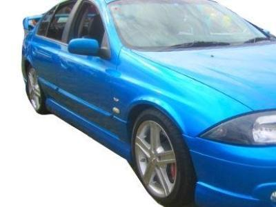 Side Skirts for AU Ford Falcon Sedan - TS50 Style - Spoilers and Bodykits Australia