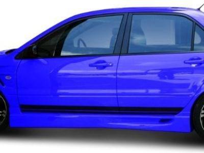 Side Skirts for CH Mitsubishi Lancer Sedan (2003 - 2007 Models) - Spoilers and Bodykits Australia