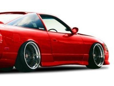 Side Skirts for Nissan 180SX - 4 Piece - Spoilers and Bodykits Australia