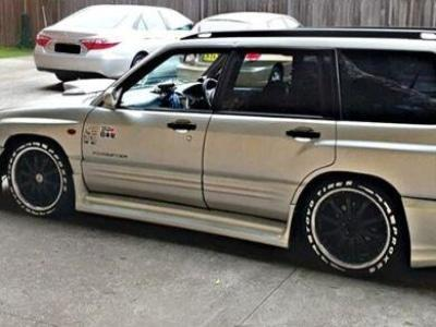 Side Skirts for Subaru Forester Wagon (1997 - 2002 Models) - Spoilers and Bodykits Australia