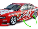 Side Skirts for VY / VZ Holden Commodore Sedan - V8 Supercar Style - Spoilers and Bodykits Australia