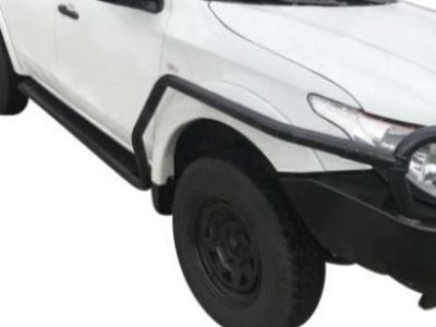 Side Steps & Brush Bars for Mitsubishi Trition MQ Dual Cab - Heavy Duty (2015 - 2018 Models) - Spoilers and Bodykits Australia