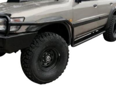 Side Steps & Brush Bars for Nissan Patrol GU Series 1 / 2 / 3 - Heavy Duty (1997 - 2004 Models) - Spoilers and Bodykits Australia