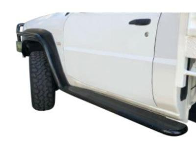 Side Steps & Brush Bars for Nissan Patrol GU Single Cab Ute Series 4+ - Heavy Duty (2004 - 2015 Models) - Spoilers and Bodykits Australia