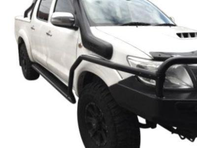 Side Steps & Brush Bars for Toyota Hilux Dual Cab - Heavy Duty (2005 - 2015 Models) - Spoilers and Bodykits Australia