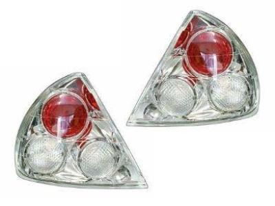 Tail Lights for CE Mitsubishi Lancer - Chrome (1996 - 1998 Models) - Spoilers and Bodykits Australia