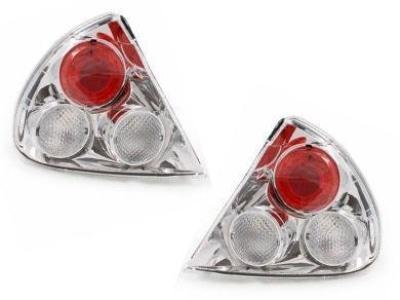 Tail Lights for CE Mitsubishi Lancer - Chrome (1998 - 2003 Models) - Spoilers and Bodykits Australia