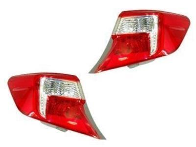 Tail Lights for Toyota Camry Atara / Altise / Hybrid ASV50 / AVV50 (Outer Lights Only) (12/2011 - 2015 Models) - Spoilers and Bodykits Australia