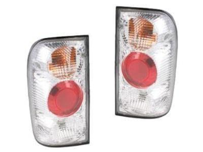 Tail Lights for Toyota Hilux LN / RZN / KZN - Chrome (1997 - 2005 Models) - Spoilers and Bodykits Australia