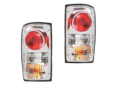 Tail Lights for Toyota Hilux RN / YN / LN 2WD & 4WD - Chrome (1988 - 1997 Models) - Spoilers and Bodykits Australia