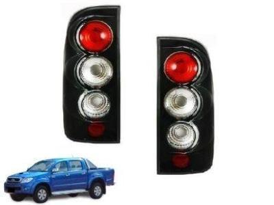 Tail Lights for Toyota Hilux TGN / KUN / GGN - Black (04/2005 - 08/2011 Models) - Spoilers and Bodykits Australia