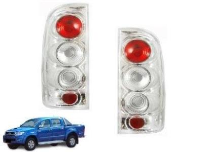 Tail Lights for Toyota Hilux TGN / KUN / GGN - Chrome (04/2005 - 08/2011 Models) - Spoilers and Bodykits Australia