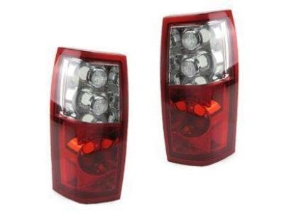 Tail Lights for VY / VZ Holden Commodore Ute & Wagon - Crystal Clear / Red Lens (2003 - 2007 Models) - Spoilers and Bodykits Australia