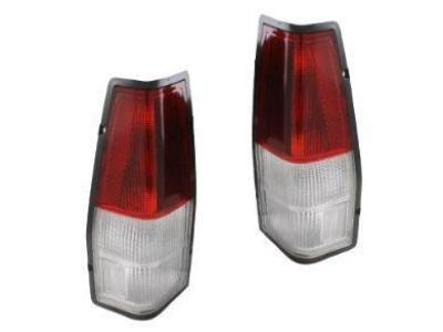 Tail Lights for XD / XE / XF / XG / XH Ford Falcon Utes & Panel Vans - Red / Clear (1979 - 1998 Models) - Spoilers and Bodykits Australia