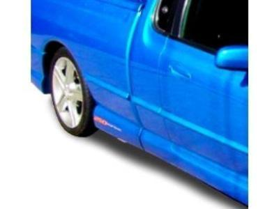 Tray Side Skirts ONLY for AU / BA / BF Ford Falcon Ute - 250 Style - Spoilers and Bodykits Australia