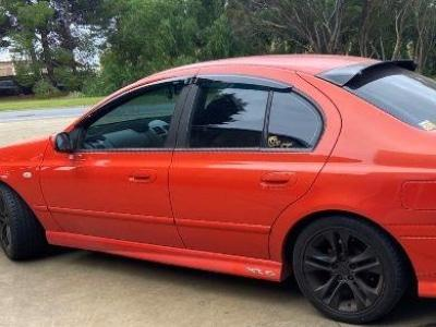 Weather Shields for BA / BF Ford Falcon Sedan - Spoilers and Bodykits Australia