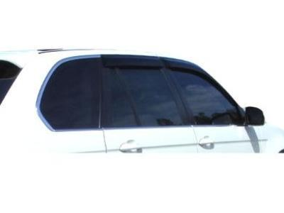 Weather Shields for BMW X5 E53 Wagon (1999 - 2007 Models) - Spoilers and Bodykits Australia