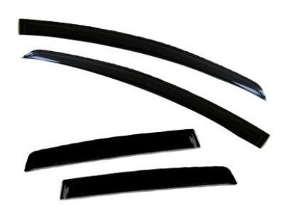 Weather Shields for Ford Focus LR Sedan / Hatch (2002 - 2005 Models) - Spoilers and Bodykits Australia