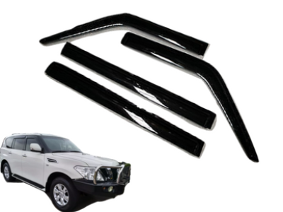 Weather Shields for GU Nissan Patrol Y62 Wagon (2013 - 2019 Models) - Spoilers and Bodykits Australia
