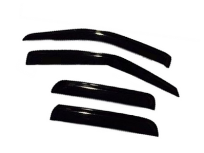 Weather Shields for Holden Rodeo Dual Cab / Crew Cab (2003 - 2008 Models) - Spoilers and Bodykits Australia