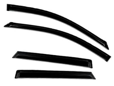 Weather Shields for Honda CRV (2006 - 2012 Models) - Spoilers and Bodykits Australia