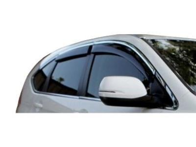 Weather Shields for Honda CRV - Chrome (2013 - 2017 Models) - Spoilers and Bodykits Australia