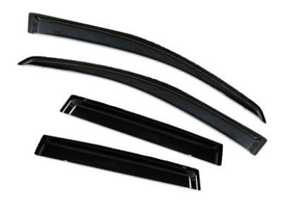 Weather Shields for Honda Jazz (2001 - 2007 Models) - Spoilers and Bodykits Australia
