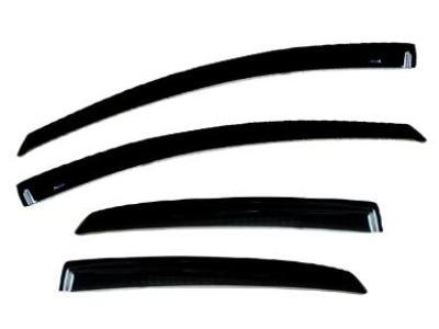 Weather Shields for Hyundai Elantra Sedan (2000 - 2006 Models) - Spoilers and Bodykits Australia