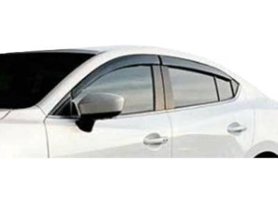 Weather Shields for Mazda 3 Sedan (2014 - 2019 Models) - Spoilers and Bodykits Australia