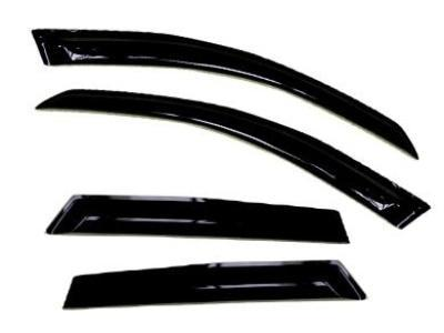 Weather Shields for Mercedes Benz ML 280 / 300 / 320 (2005 - 2011 Models) - Spoilers and Bodykits Australia