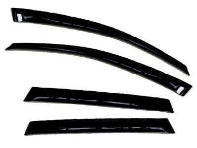 Weather Shields for Mitsubishi Outlander (2003 - 2007 Models) - Spoilers and Bodykits Australia