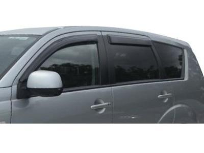 Weather Shields for Mitsubishi Outlander (2006 - 2012 Models) - Spoilers and Bodykits Australia