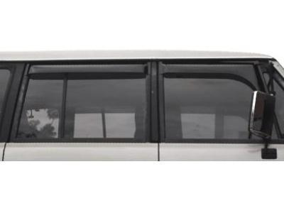 Weather Shields for Mitsubishi Pajero (1982 - 1991 Models) - Spoilers and Bodykits Australia