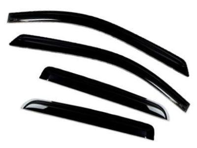 Weather Shields for Nissan Navara NP300 D23 - Set of 4 (2015 - 2019 Models) - Spoilers and Bodykits Australia