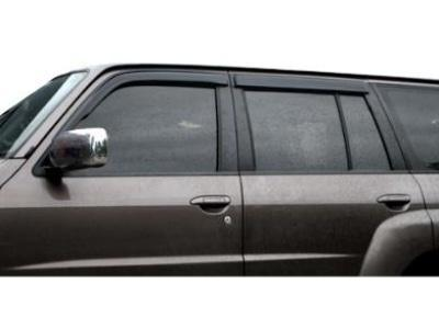 Weather Shields for Nissan Patrol GU Wagon Y61 (2004 - 2017 Models) - Spoilers and Bodykits Australia