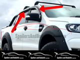 Weather Shields for PX1 / PX2 / PX3 Ford Ranger (2012 - 2019 Models) - Spoilers and Bodykits Australia