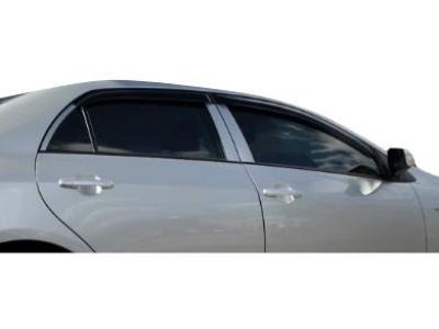 Weather Shields for Toyota Corolla Sedan (2007 - 2012 Models) - Spoilers and Bodykits Australia