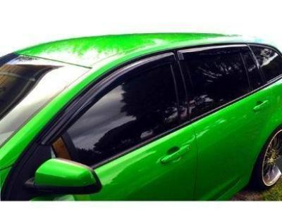 Weather Shields for VF Holden Commodore Wagon (Set of 4) - Spoilers and Bodykits Australia