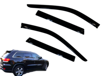 Weather Shields for WK Jeep Grand Cherokee (2011 - 2019 Models) - Spoilers and Bodykits Australia