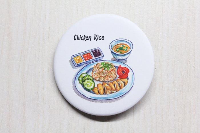 【SUMMER SALE】<br>CHICKEN RICE BADGE<br>