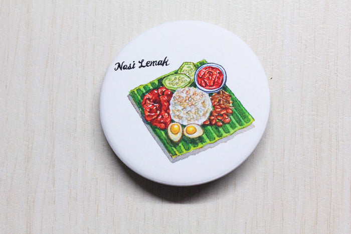 【SUMMER SALE】<br>NASI LEMAK BADGE