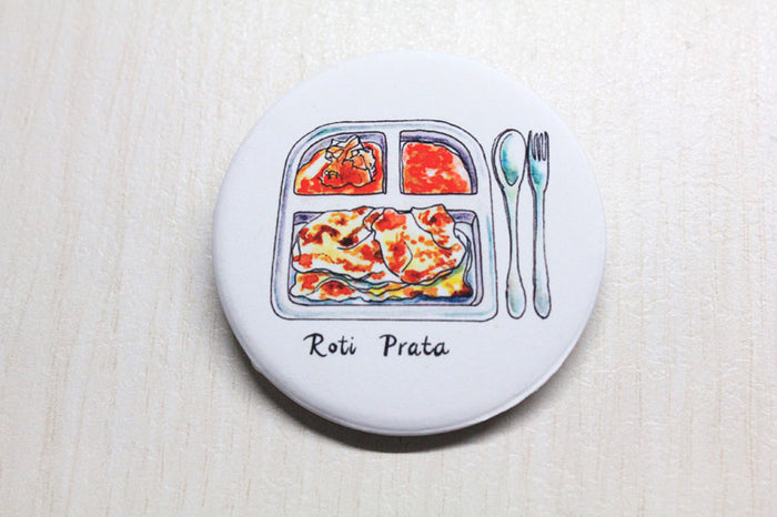 【SUMMER SALE】<br>ROTI PRATA BADGE