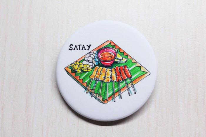 【SUMMER SALE】<br>SATAY BADGE