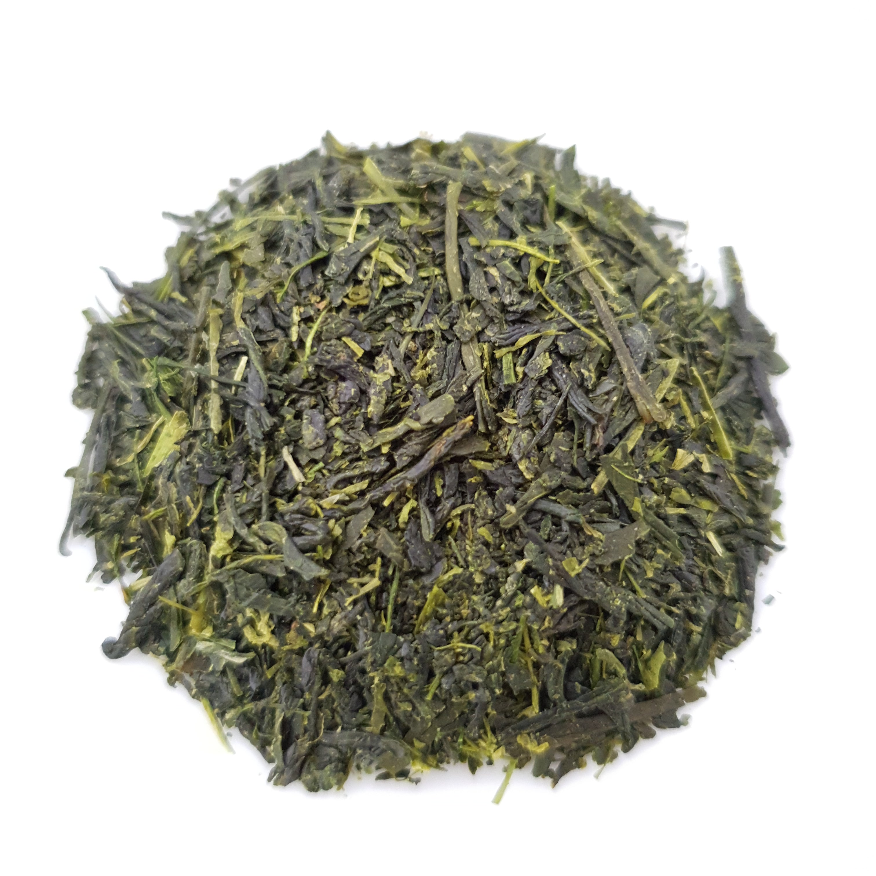 Fukamushi sencha Japanese green tea leaves
